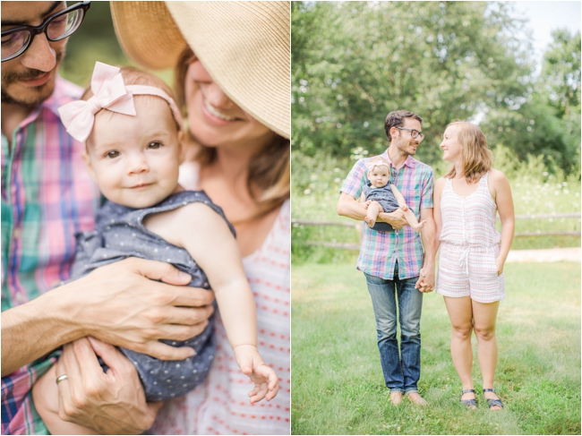 Summer family session photographed by Deborah Zoe Photography.
