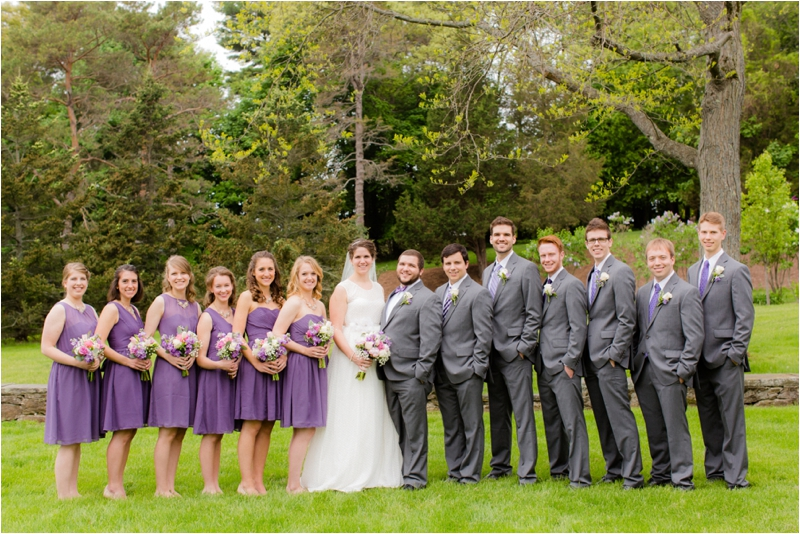 Bridal Party at Gordon Conwell in Hamilton.