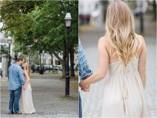 A Salem, Massachusetts engagement session by Deborah Zoe Photography.