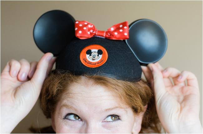 Mickey Ears by Deborah Zoe Photography.