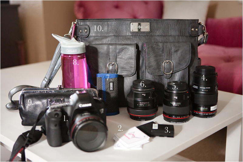 whats in my camera bag wedding photographer deborah zoe photography