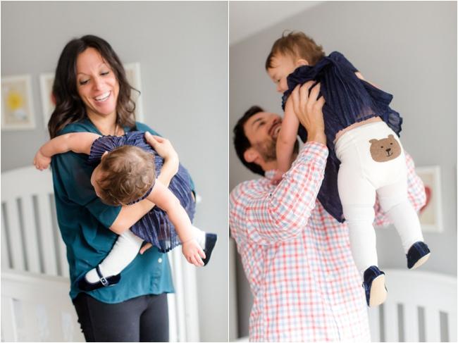 A Somerville family portrait session by Deborah Zoe Photography.