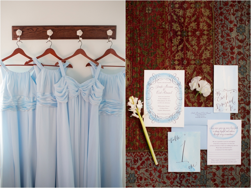 winter wedding at the Willowdale Estate