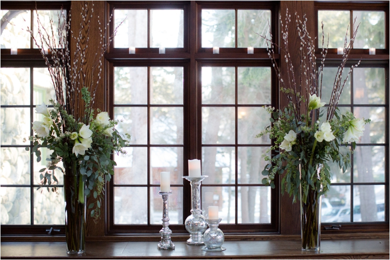 Ceremony details at Willowdale Estate
