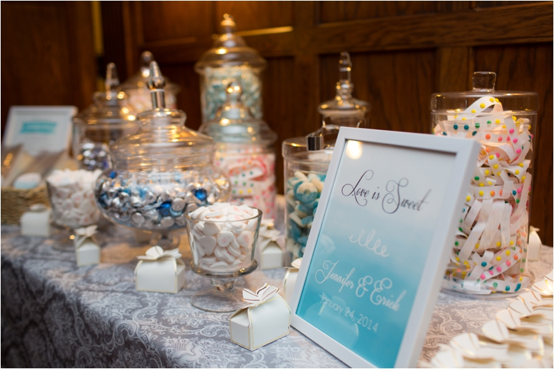 Indoor reception at Willowdale Estate