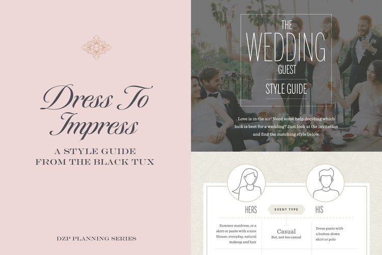 In the seventh installment of the DZP Planning Series, I'm sharing a great resource to help your guests dress to impress at your wedding!!