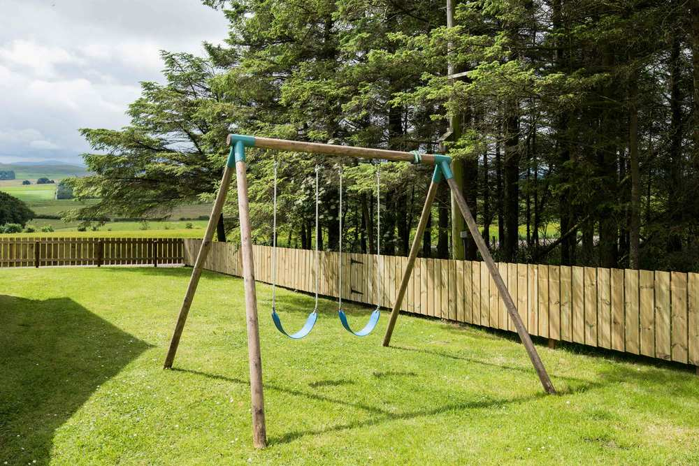 The large grassed garden is fully enclosed and offers outdoor seating to the front and rear of the property. A new, woodland area, adjacent to the garden is available for secure outdoor play.