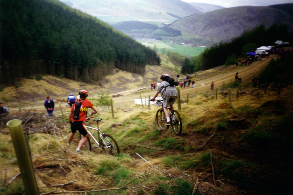 Mountain Biking in Peebles (by Mark Summerville)