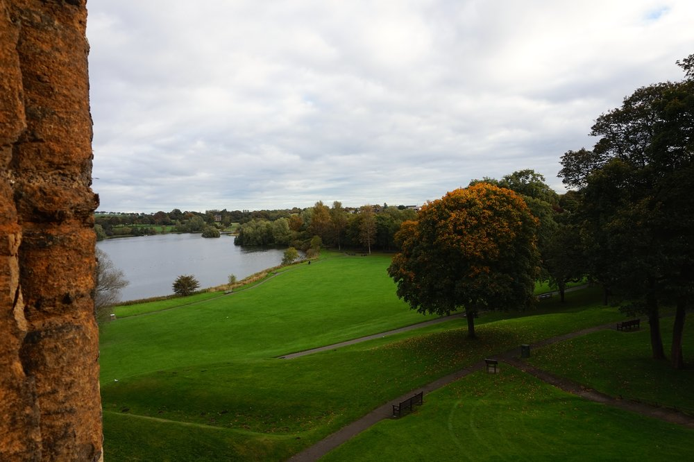 The Gardens around Linlithgow Palace
