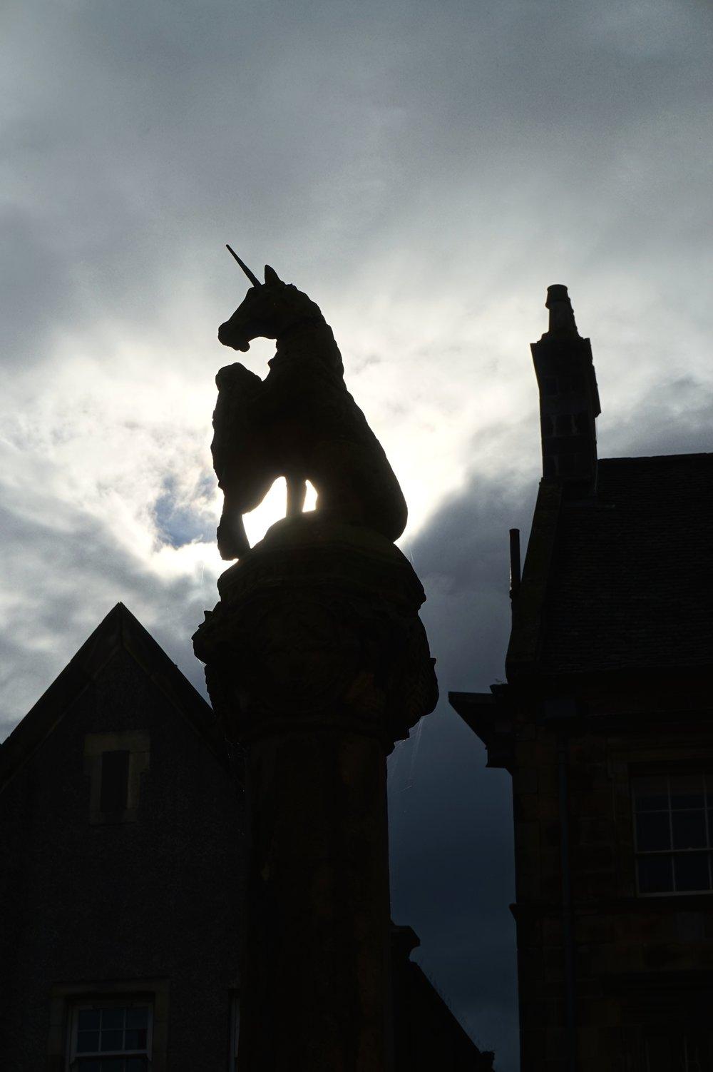 The Unicorn in the Merket Square