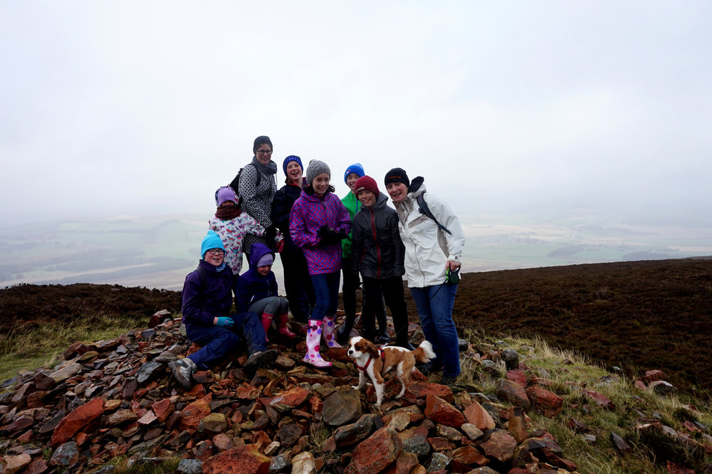 We all made it to the first Cairn