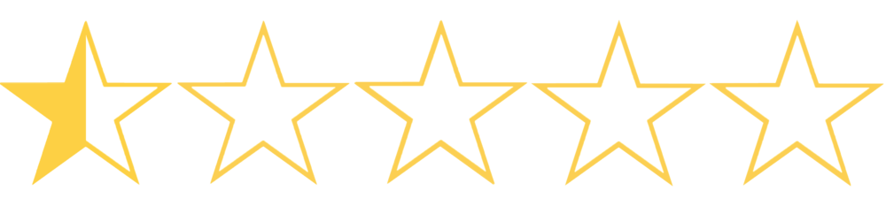 The half star is for the person who did the CGI, that person deserves it.