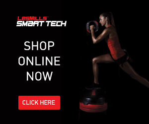 "Use code ""  LABORDAY20"" for 20% off all SMART TECH at Les Mills from September 4th-8th"