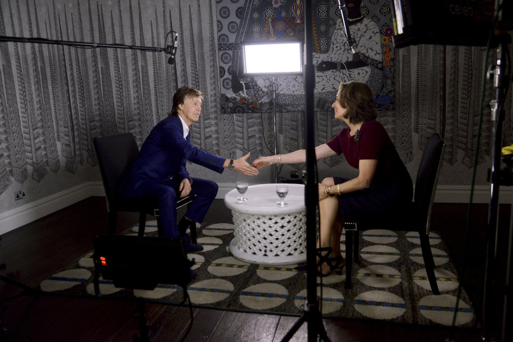 National Geographic Editor in Chief Susan Goldberg meets Paul McCartney in an exclusive conversation about his new film 'One Day a Week', part of his 'Meat Free Monday' campaign  Copyiight: National Geographic