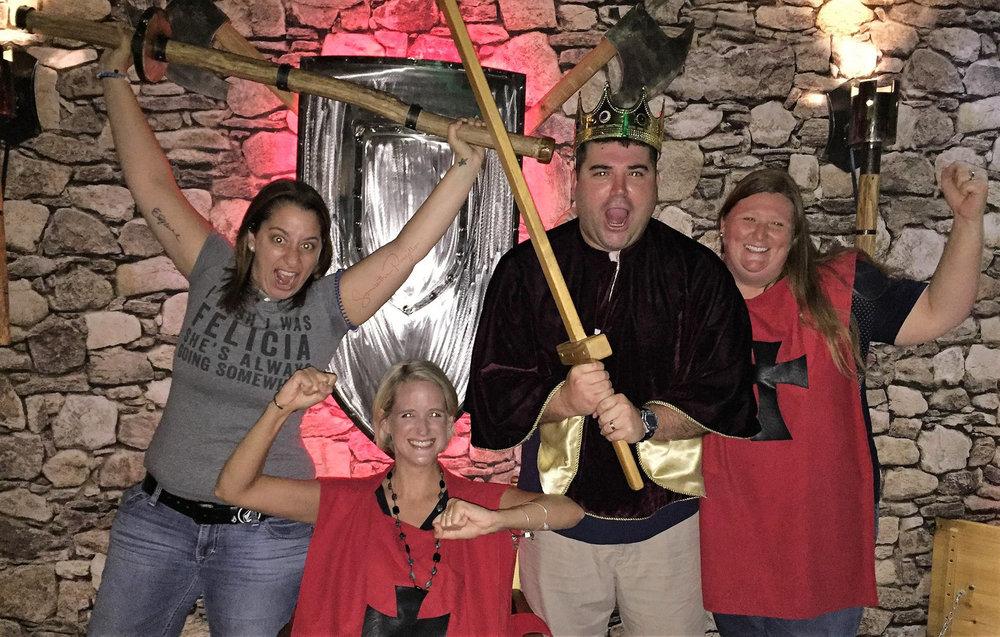 Escape Room Tampa: Medieval challenge