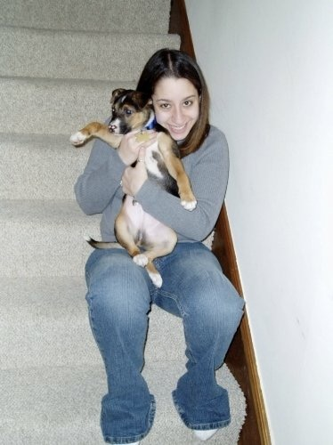 Maxwell and I in December 2004