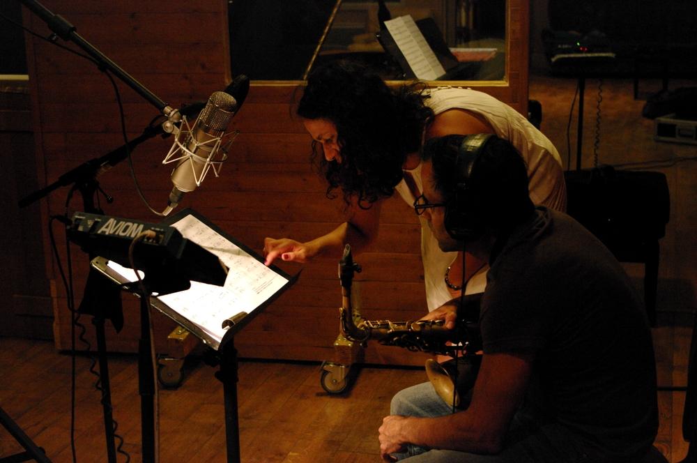 Leïla Olivesi & David Binney - Utopia recording