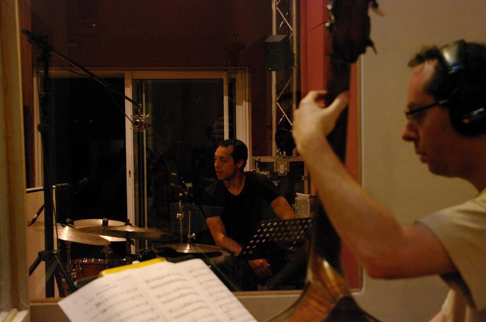 Donald Kontomanou & Yoni Zelnik - Utopia recording