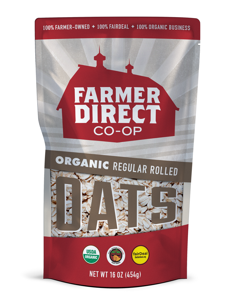 Organic, fairDeal Regular Rolled Oats from Farmer Direct Co-op