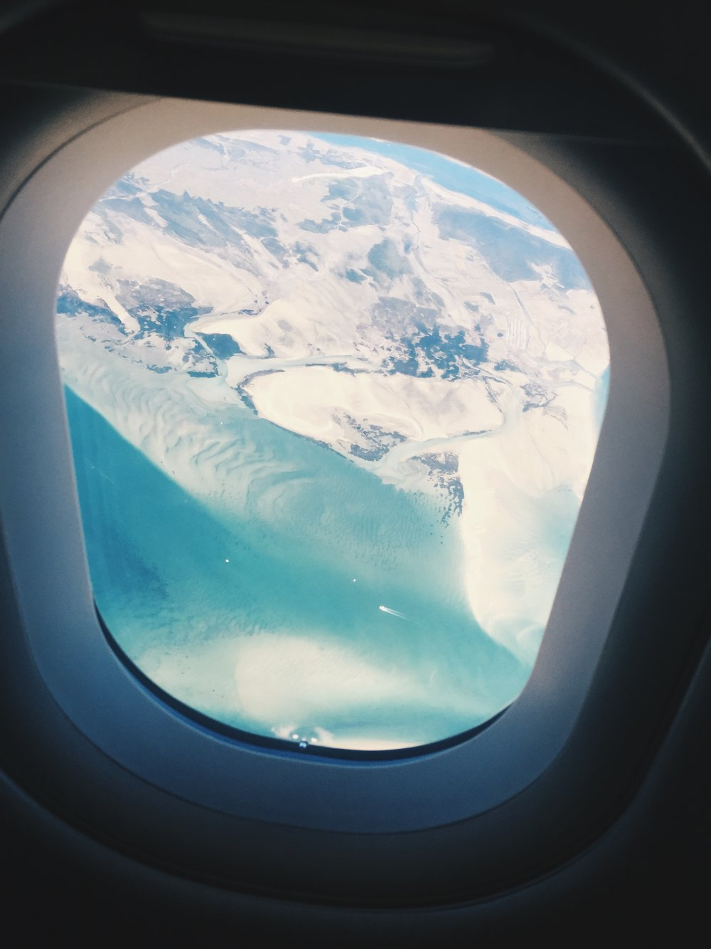 l mean....you already know its going to be amazing when this is what you see from the airplane.