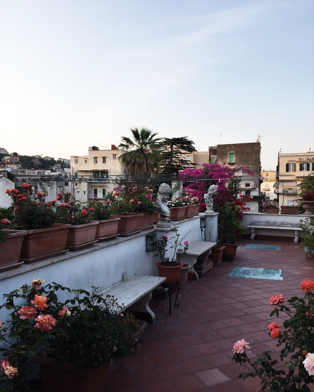 our INSANE terrace of dreams