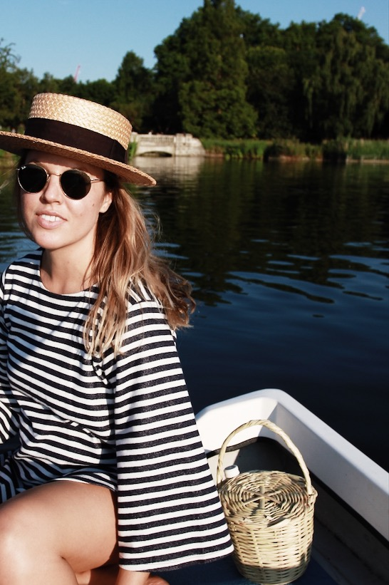 Beaux Style Guide | Boating in Hyde Park