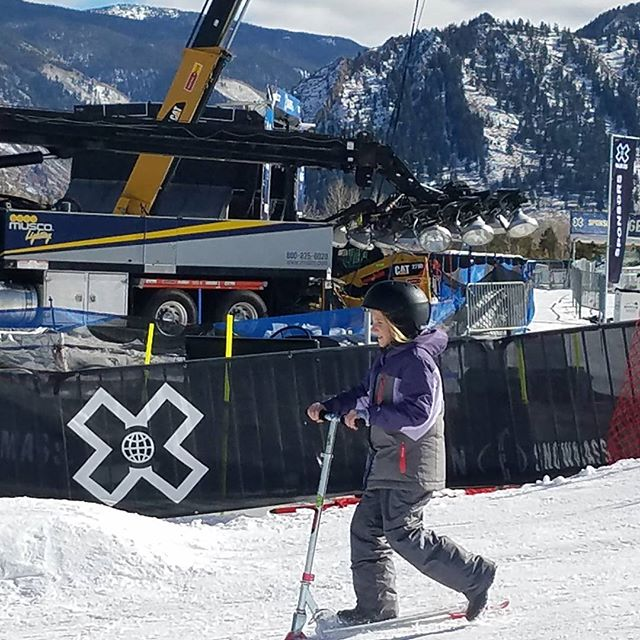 Izzy competing at the X Games! #botanicare #sweepstakes #growlocal #ridelocal