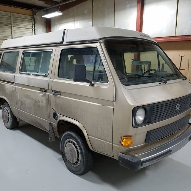 Karen and her husband bought this bus brand new in 1984 and it is long overdue for a restoration. We are giving it a full restoration, watch it all unfold here! #vanlife #vanagonlife #westylife