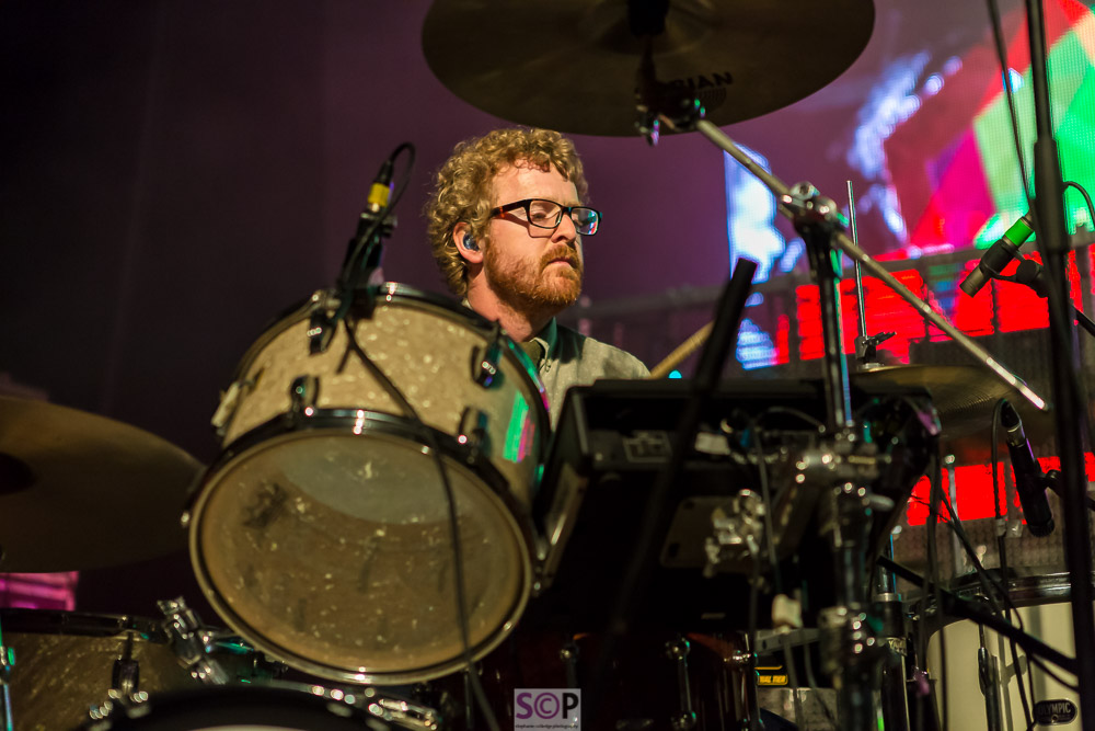public service broadcasting on stage in birmingham