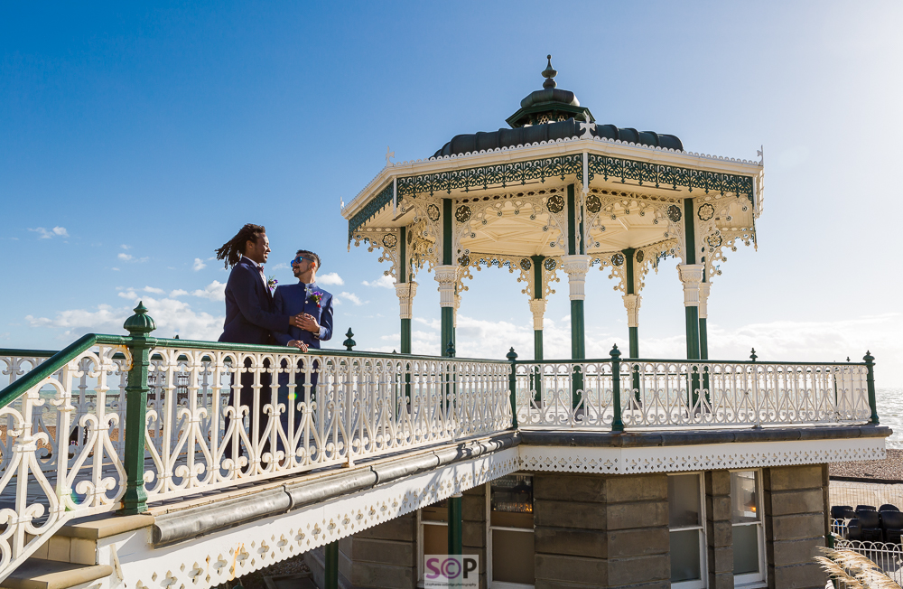 same sex couple at brighton bandstand.jpg