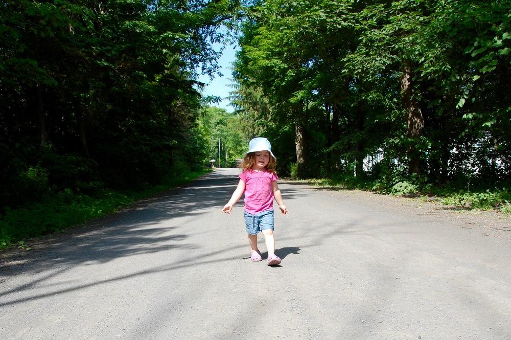 nature walk toddler