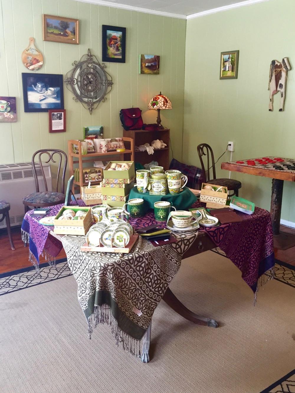 Irish Tea Shop in East Durham, NY | BrooklynDoubleWide.com