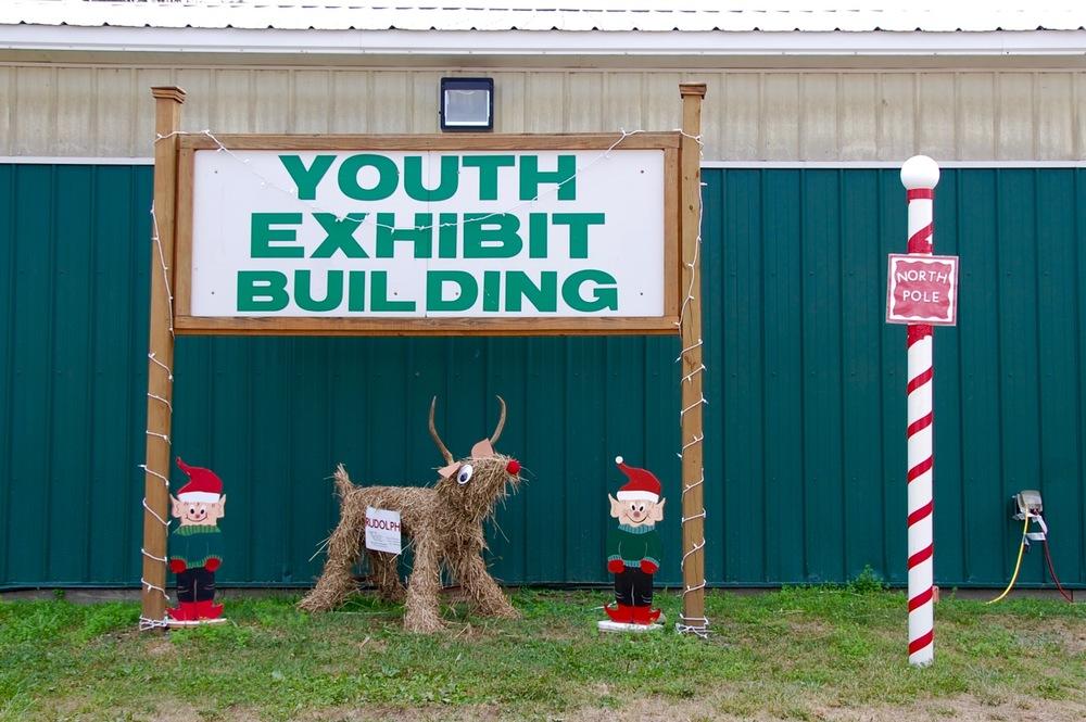 hay reindeer