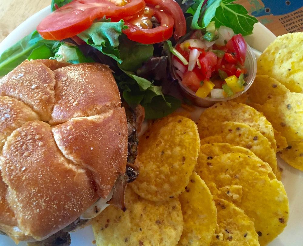 Catskill Mountain Country Store Veggie burger