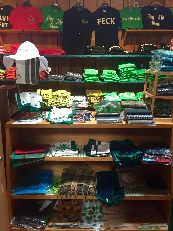 Irish T-shirts at Guaranteed Irish, East Durham, NY