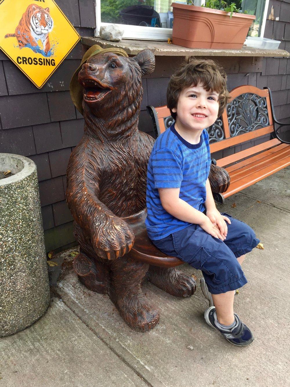 Bear chair!