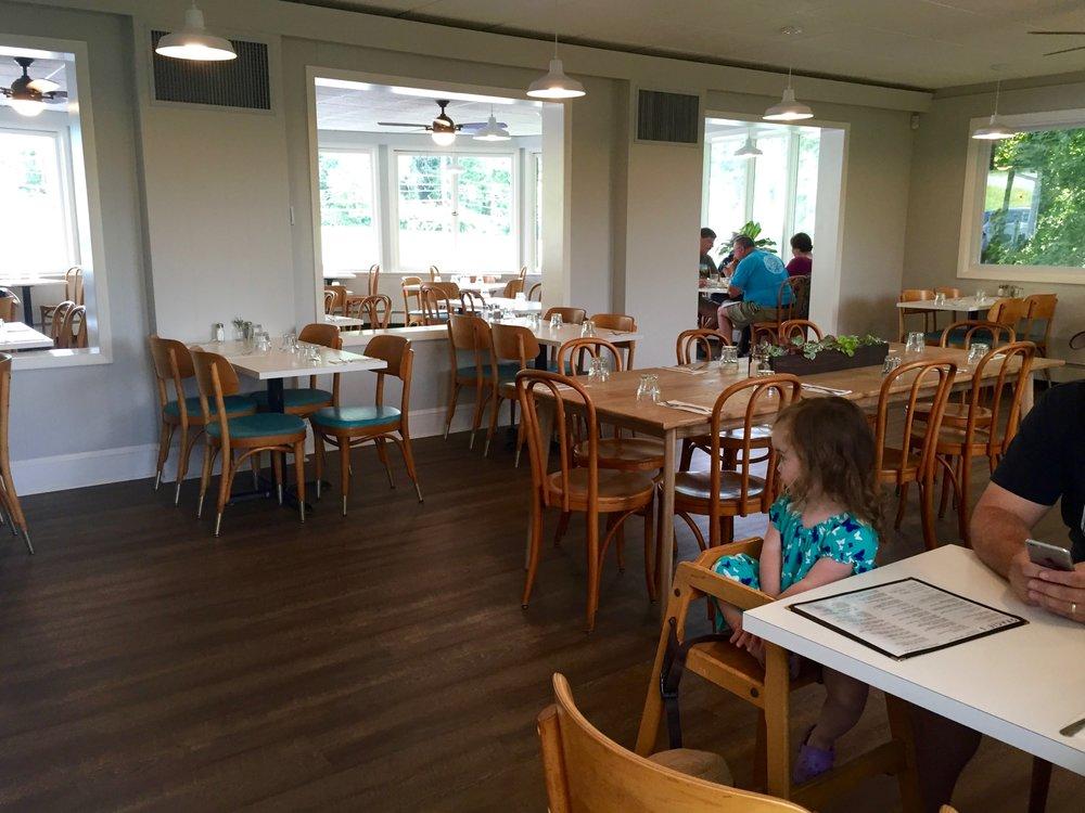 gracies luncheonette interior