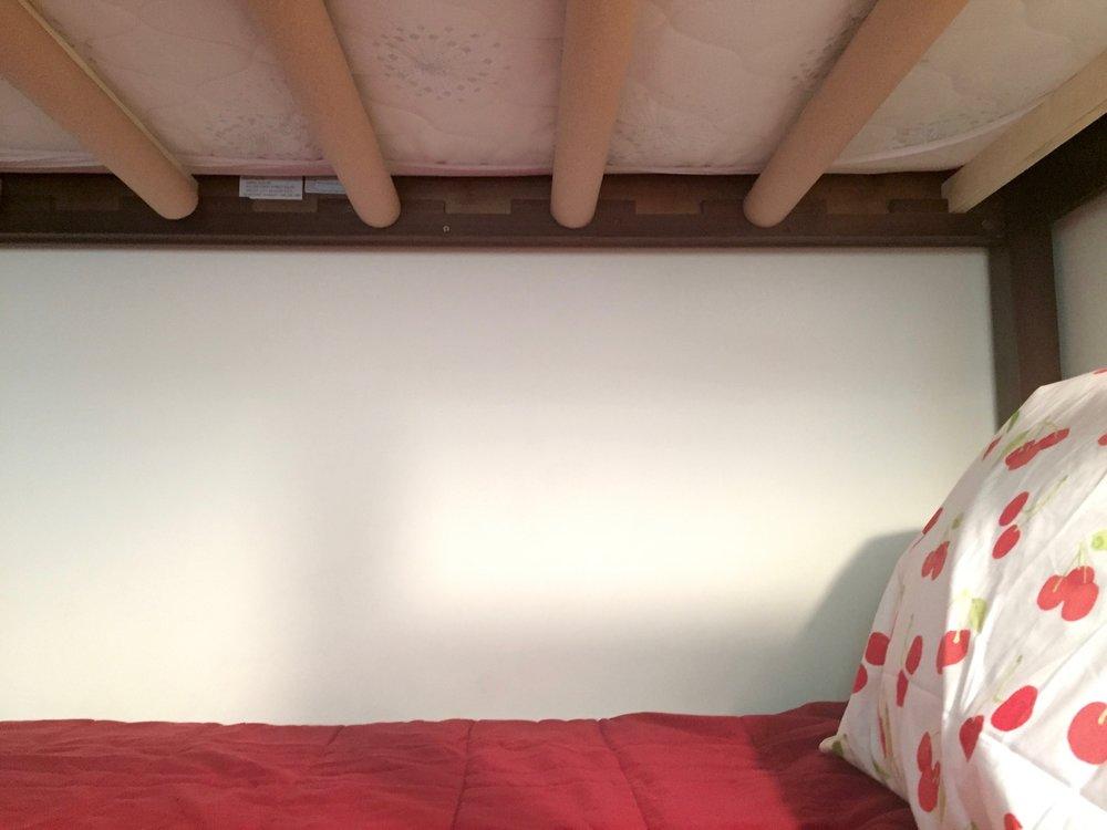 diy no-bunk bunk beds