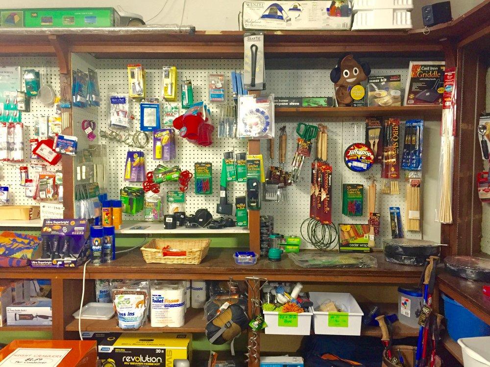 east durham camping supplies
