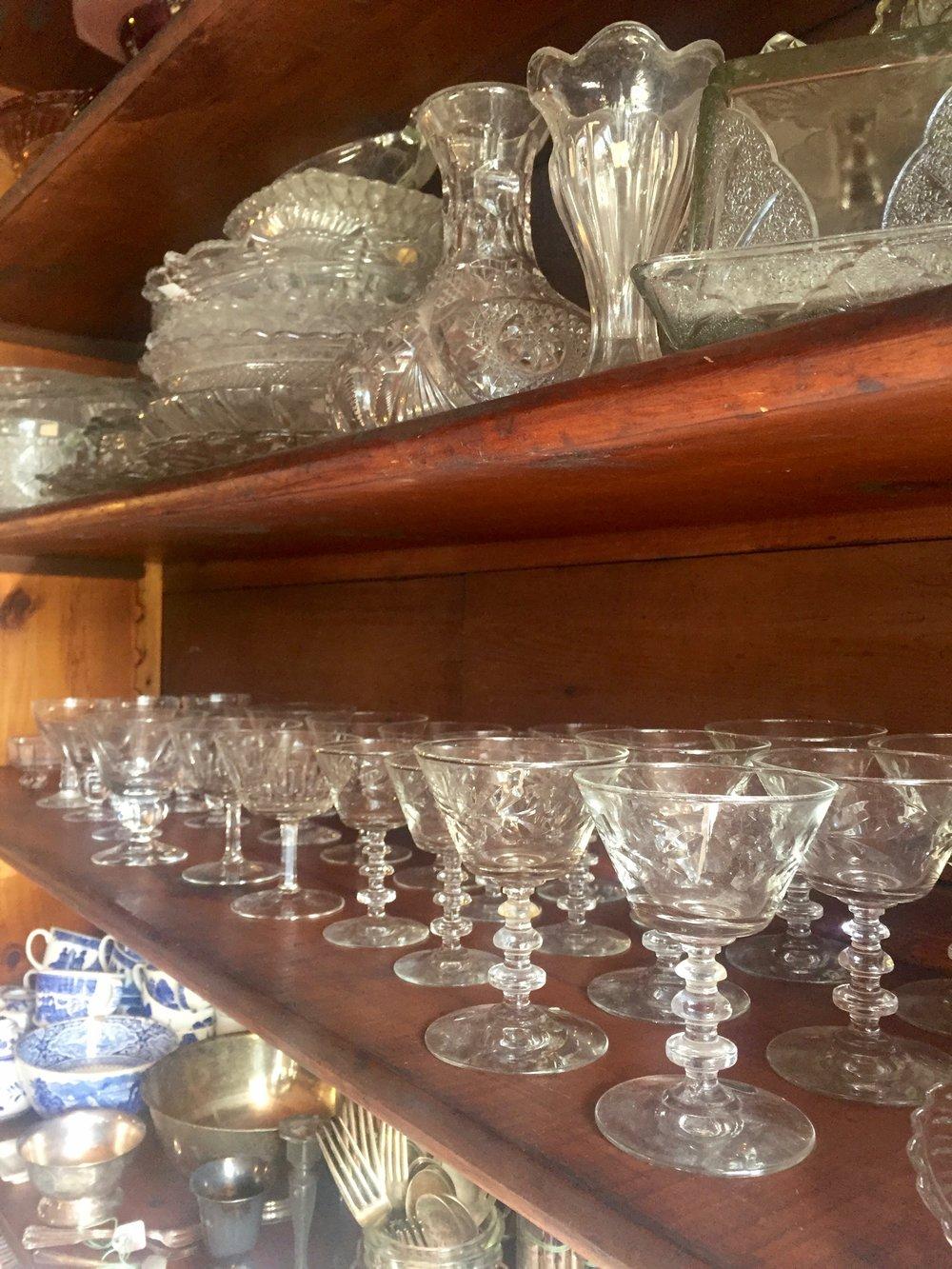 antique glasses catskills