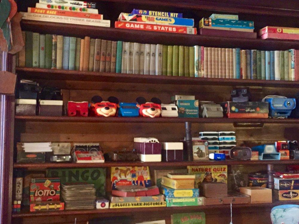 vintage toys books games