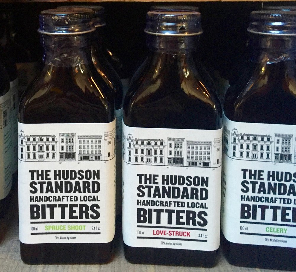 "Hudson Standard Bitters , with flavors like Spruce Shoot (""boldy woodsy""), Love-Struck (""inspired by an ancient Roman aphrodisiac made from hyssop, thyme, peppercorn and ginger""), and Celery (""Not just for Bloody Marys!""), make a fine gift for a cocktail enthusiast with an already well-stocked bar."