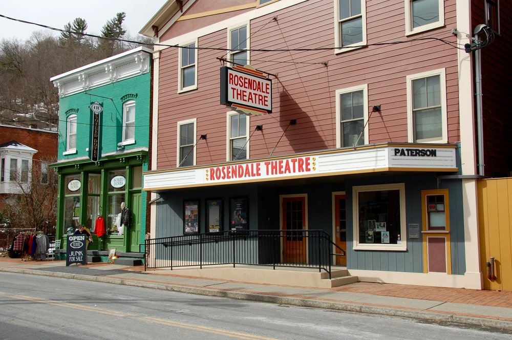 Rosendale Theatre and Soiled Doves