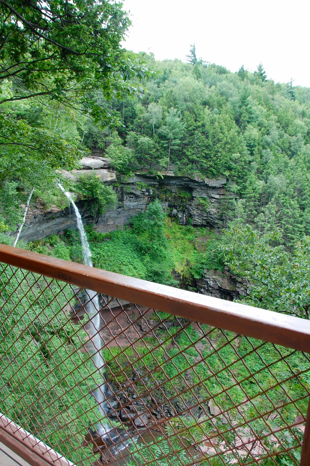 Panic attack at Kaaterskill Falls!