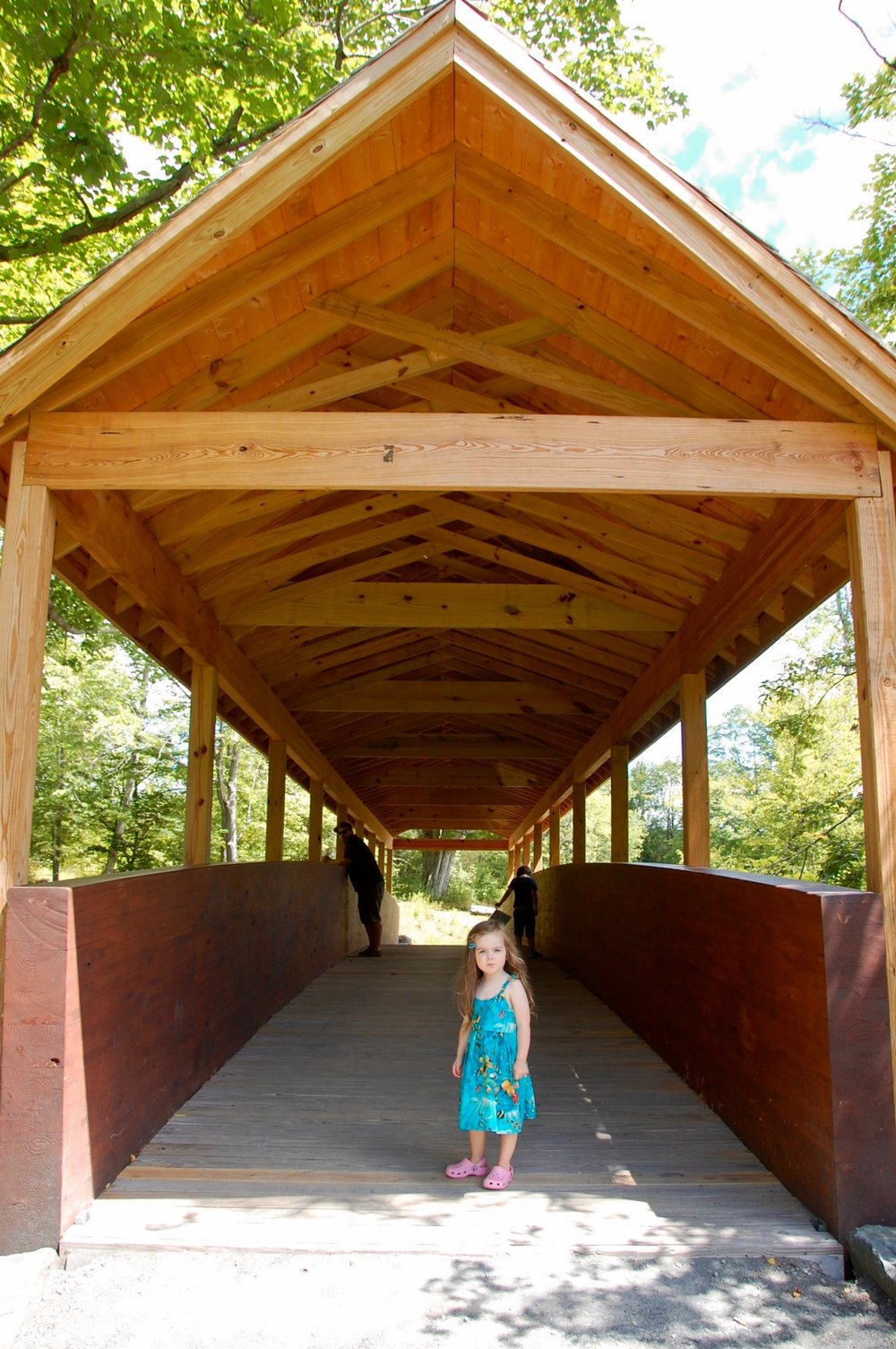 covered bridge windham path