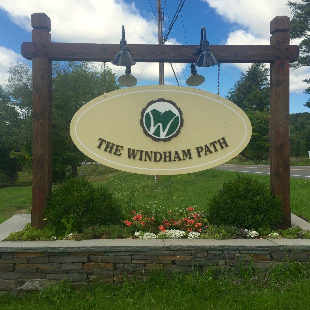 windham path sign