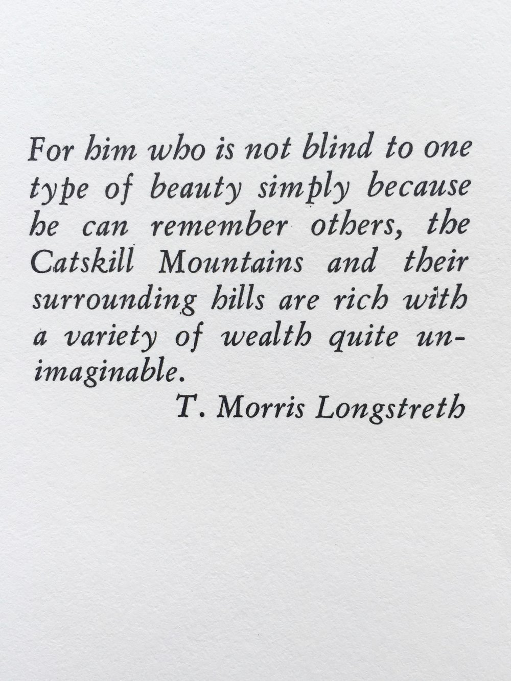 From Enjoying The Catskills by Arthur C. Mack