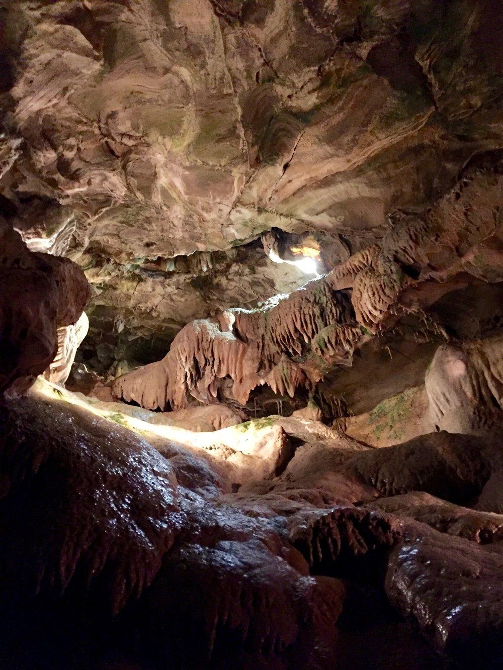 inside howe caverns