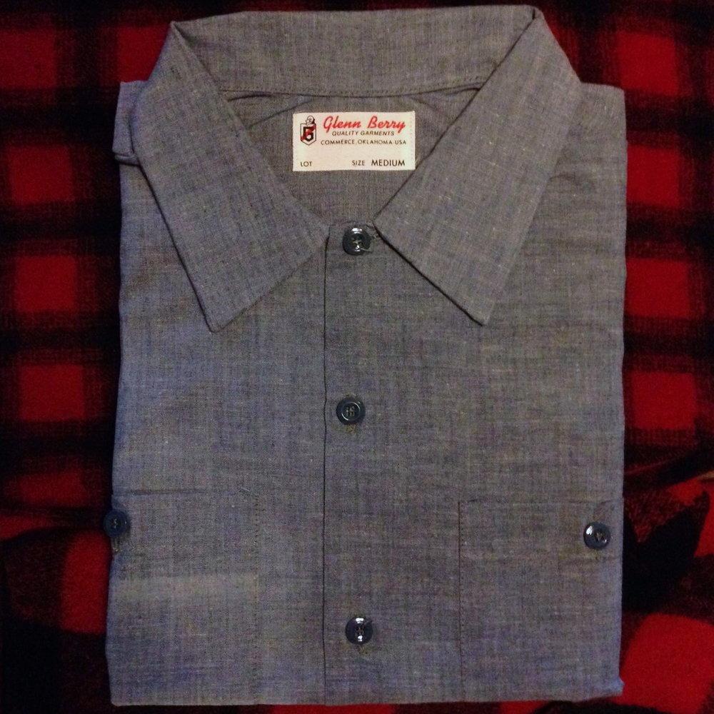 1950s work shirt