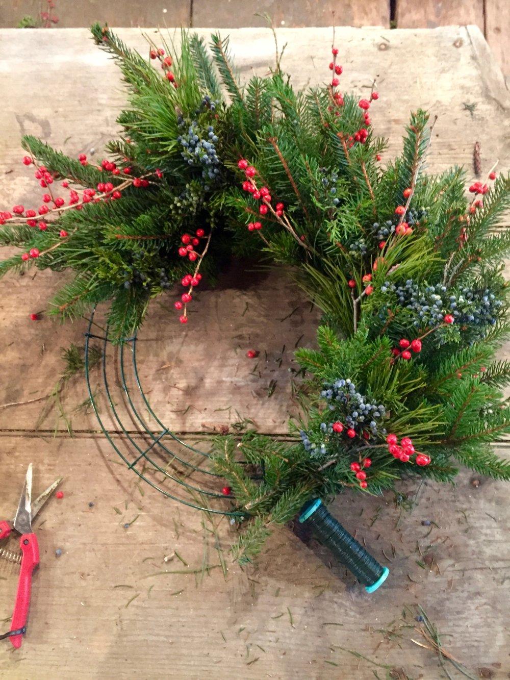 wreathing
